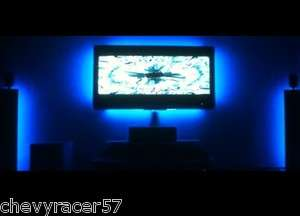 RGB LED LCD PC AMBIENT COLOR ILLUMINATE TV TELEVISION BACKLIT