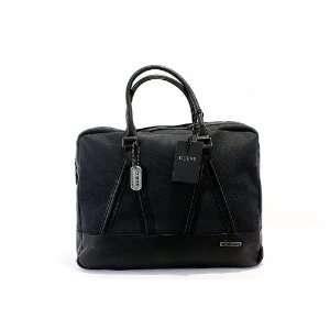 Guess Old Town LapTop Case Mens Black Messenger Bag