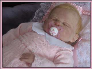 Gorgeous So Real Reborn Baby Doll Sweet Baby Girl with Human Hair