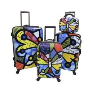 Britto Collection by Heys USA Butterfly 4 Piece Set B700