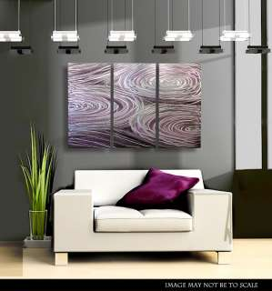 Crafted Modern Metal Abstract Wall Art Painting Sculpture Decor