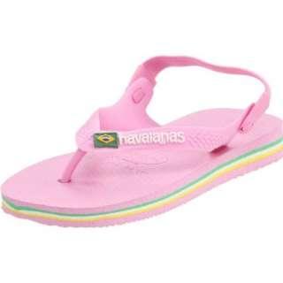 Havaianas Baby Brasil Logo Flip Flop (Toddler)   designer shoes
