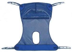 Lumex Mesh Full Body Commode Patient Lift Sling