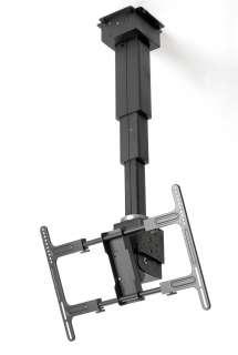 Motorized Remote Control TV Ceiling Mount 20 Lift/Pan/Tilt PLD