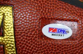 YAO MING SIGNED SPALDING NBA BASKETBALL PSA/DNA