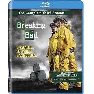 Breaking Bad The Complete Third Season (Blu ray