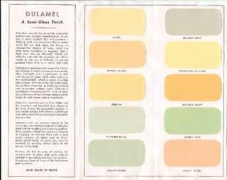 benjamin moore 1951 sani flat paint color chart folio time. Black Bedroom Furniture Sets. Home Design Ideas