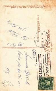 Valentines Day Greetingsa poem Tennyson photo Postcard