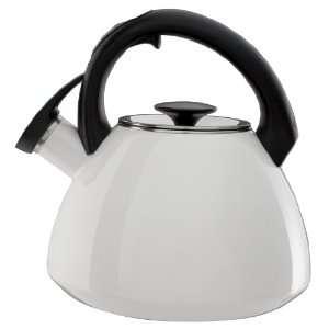 OXO Good Grips Click Click Tea Kettle, White  Kitchen