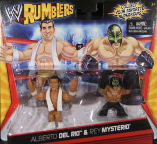 REY MYSTERIO   WWE RUMBLERS MATTEL TOY WRESTLING ACTION FIGURE