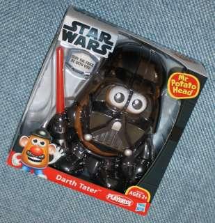Playskool Hasbro Star Wars Mr. Potato Head Darth Tater NEW
