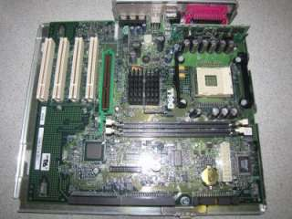 Dell Dimension 4300 Socket 478 Motherboard 7H373 + Tray