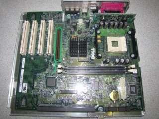 Dell Dimension 4300 Socket 478 Motherboard 7H373 + Tray