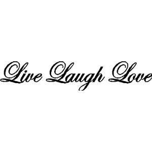 LIVE LAUGH LOVEWALL QUOTES WORDS LETTERING SAYINGS