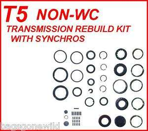 T5 CHEVY GM FORD T 5 5 SPEED TRANSMISSION REBUILD KIT