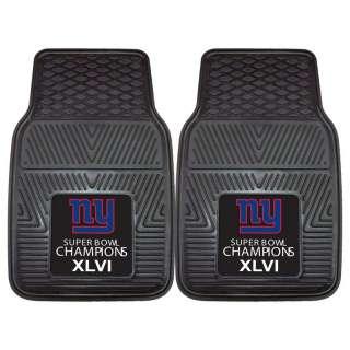 Bowl XLVI Champions 2pc Vinyl Car & Truck Front Floor Mats