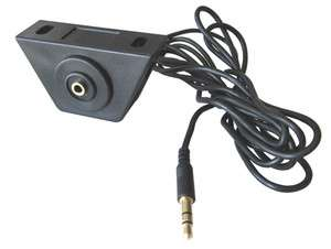 mm Aux Input Under Dash Mount Kit w/ 6 Ft Cable for iPod